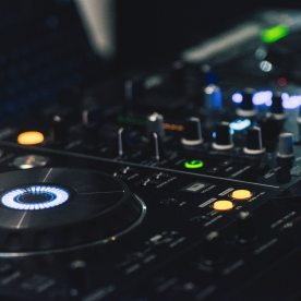 DJ deck design